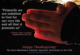 thanksgiving day 2012 st of peace syro malankara