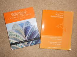 best precalculus with limits textbook and study and solutions
