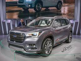 subaru suv concept subaru ascent suv previews upcoming entry kelley blue book