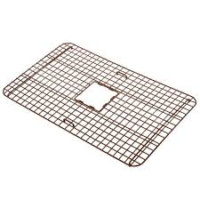 SINKOLOGY Wright Copper Kitchen Sink Bottom Grid Heavy Duty Vinyl - Kitchen sink grids
