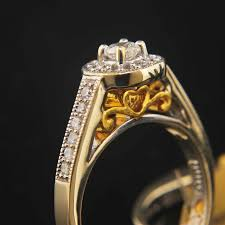 antique engagement ring settings selling yellow gold antique engagement ring set 4 595 00
