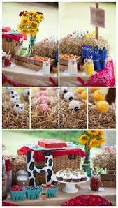 Barn Animal Party Supplies Granja Farm Pinterest Birthdays Farm Party And Barnyard Party