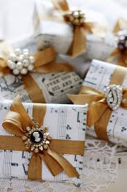 Wedding Gift Cost Diy Wedding Ideas Sheet Music Wrapped Gifts