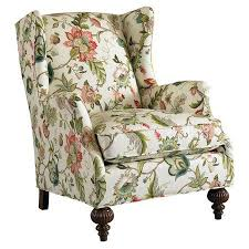 Printed Accent Chair Amazing Living Rooms Floral Print Accent Chairs With Regard To