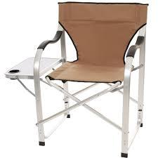 Directors Folding Chair Aluminum Extra Large Director U0027s Chair Tan Direcsource Ltd 69104