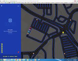 Maps Googlecom Pac Man Invades Ingress And Google Maps As Google Gets April Fools