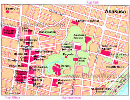 best tourist map of 12 top tourist attractions in tokyo planetware