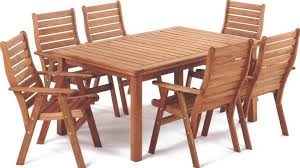 wooden patio table and chairs exterior design ideas with wooden patio dining table natural wood