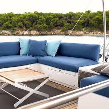 Outdoor Furniture Foam custom cushion sunbrella fabric with urecel quickdry foam