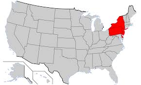Map Of The 13 Colonies Middle Colonies Wikipedia
