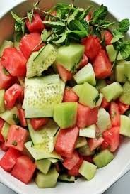 cara membuat salad sayur atau buah salad buah tips sajian salad buah menjadi lebih menarik