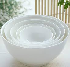 white fruit bowl 6 inch plain white bone china bowl chinese ceramic soup fruit