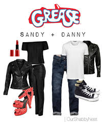 Halloween Costumes Couples Ideas Couples Costumes Grease