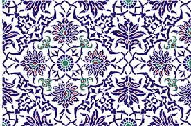 Ottoman Design Iznik Tile Panel Ottoman Stencil Design From Stencil Kingdom