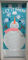 Door Decorations For Winter - creative elementary counselor winter door decorations