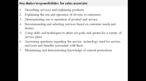 Sample Resume Of Retail Sales Associate Sample Resume For Retail Sales Assistant