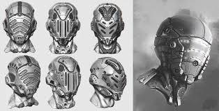 helmet design game fantasy helmets sci fi faceless helmets pinterest helmet