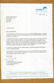 Charity Thank You Letter Sample 28 charity legacy letter letter thank you letter sample for