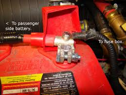 battery and alternator wire upgrade ford truck enthusiasts forums