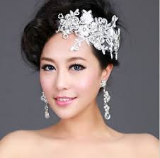 lace headwear free shipping 2013 hot selling rhinestone flower lace hair