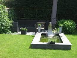 feng shui water fountain for modern landscape garden design ideas