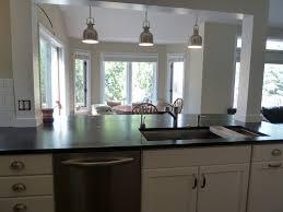 kitchen island columns concrete countertops kitchen island with columns lighting flooring