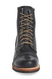 timberland smugglers cap toe boot in black for men lyst