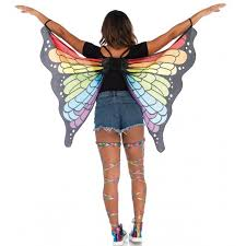 butterfly halloween costume rainbow mini butterfly festival wings costume cape