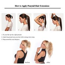 ponytail hair extensions online shop ali beauty human hair ponytail european hair