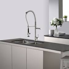 kraus commercial pre rinse chrome kitchen faucet kraus kpf 1602 chrome commercial style pre rinse kitchen faucet