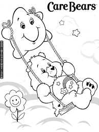 Care Bears Coloring Pages Getcoloringpages Com 80s Coloring Pages