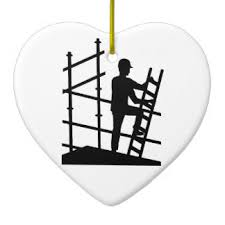 scaffold construction ornaments keepsake ornaments zazzle