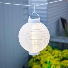 Solar Outdoor Lantern Lights - set of 4 soji solar outdoor lanterns 20cm 10