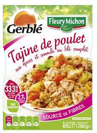 plat cuisiné fleury michon partenariat avec gerblé box régionales frais ls et produits