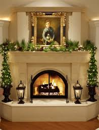 glamorous fireplace mantel decorating ideas with tv pictures