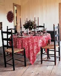 Red Dining Room Sets Red Rooms Martha Stewart