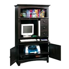 Black Computer Armoire Easy Black Computer Armoire About Office Furniture Mission