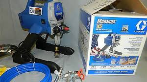 graco magnum x5 review best airless paint sprayer youtube