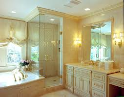 Bathroom Molding Ideas by Bathroom Wall Sconces Bathroom Traditional With Cream Cabinets