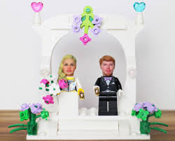 wedding cake topper lego wedding cake toppers with your own heads