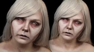 Halloween Ghost Makeup by Easy Ghost Halloween Make Up Tutorial Itsgottabehalloween Youtube