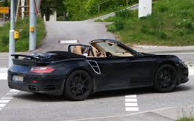 porsche cabriolet turbo 2013 porsche 911 turbo cabriolet porsche spy shots