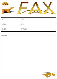 dogs 2 fax cover sheet at freefaxcoversheets net
