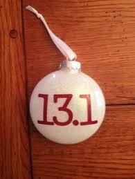 marathon christmas ornament custom vinyl running gift 26 2