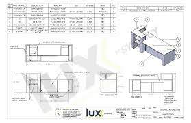 Reception Desk Plan Compact Reception Desk