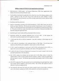 Authorization Letter Check Encashment pensioners samaj offline and online mode of ctse i card