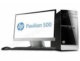 ordinateur de bureau pas cher ordinateur de bureau hp pavilion 500 375nfm pas cher ubaldi com