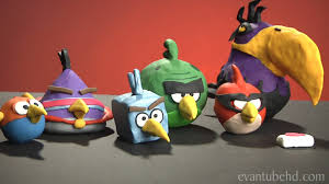 mighty space eagle clay model fat pig angry birds space
