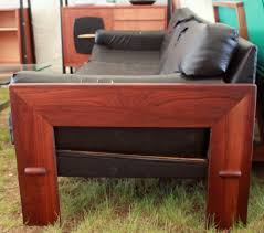 adrian pearsall mid century modern walnut sofa u2013 atomic flat