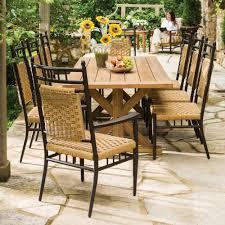 9 piece patio dining set 2pqo cnxconsortium org outdoor furniture